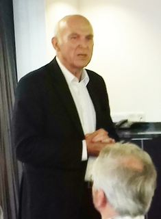 Vince Cable in Leeds