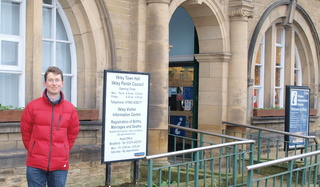 Mark Stidworthy is standing for election to Ilkley Parish Council